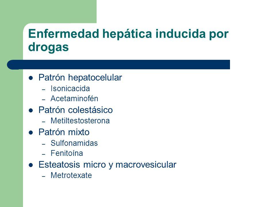 Enfermedad hepática inducida por drogas