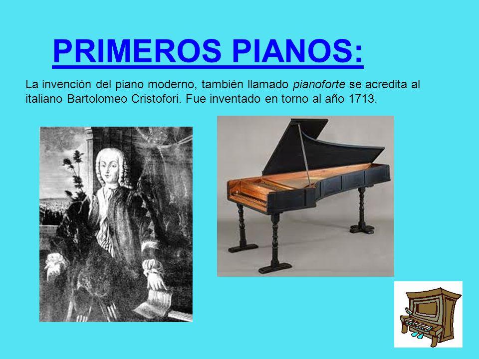 PRIMEROS PIANOS: