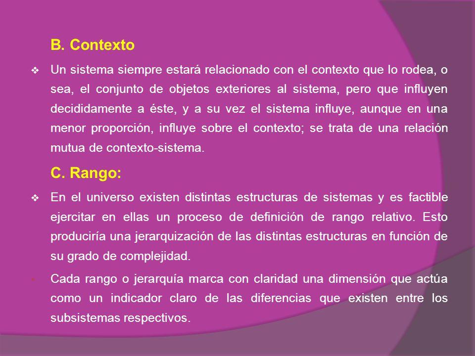 B. Contexto