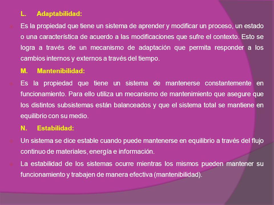 L. Adaptabilidad: