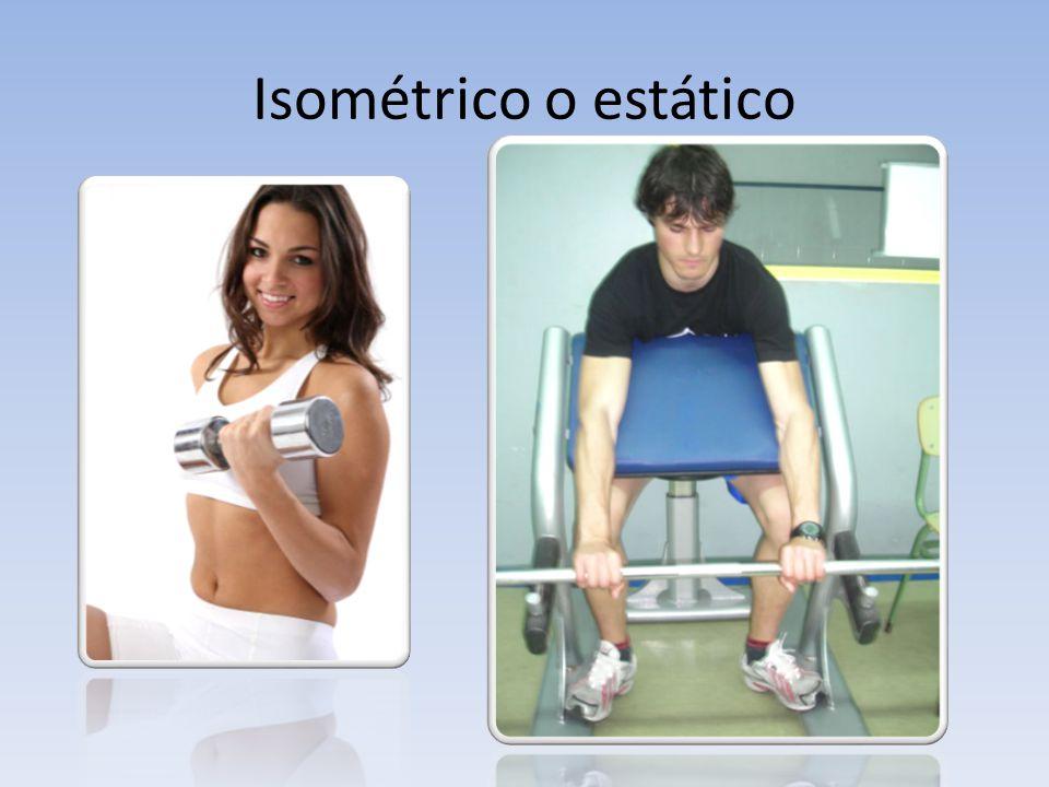 Isométrico o estático