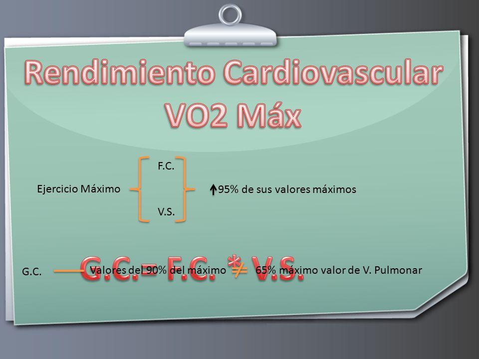 Rendimiento Cardiovascular