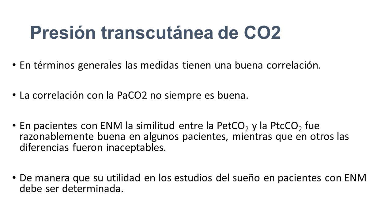 Presión transcutánea de CO2