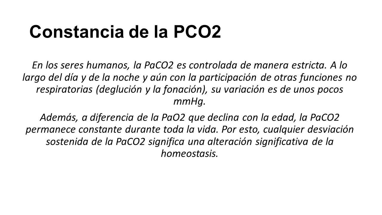 Constancia de la PCO2