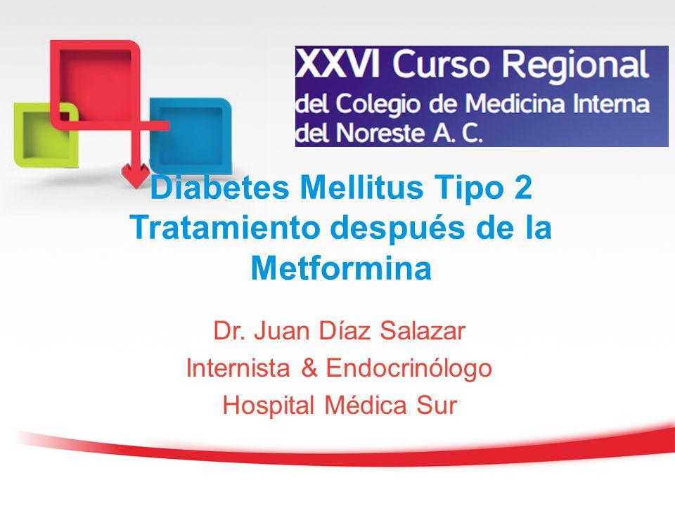 Diabetes Mellitus Tipo 2 Tratamiento después de la Metformina