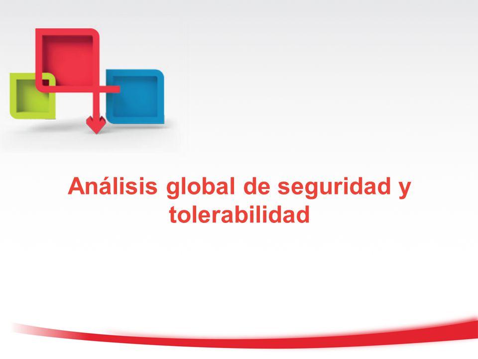 Análisis global de seguridad y tolerabilidad