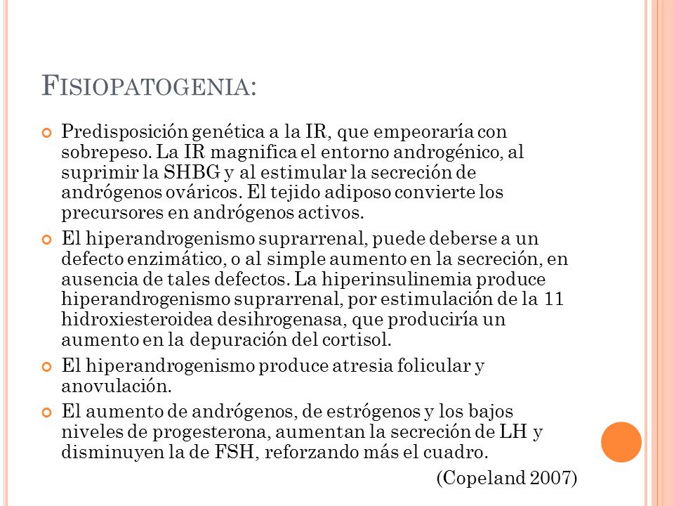 Fisiopatogenia: