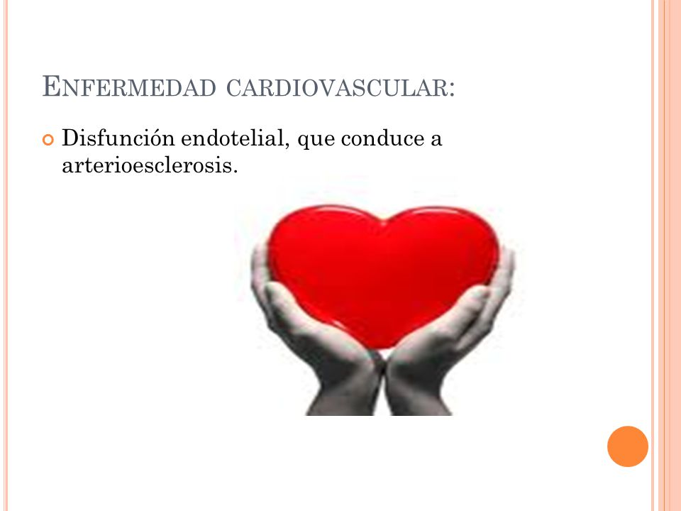 Enfermedad cardiovascular: