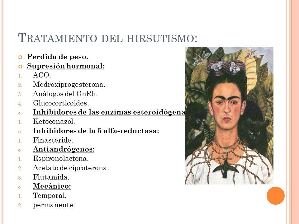 Tratamiento del hirsutismo: