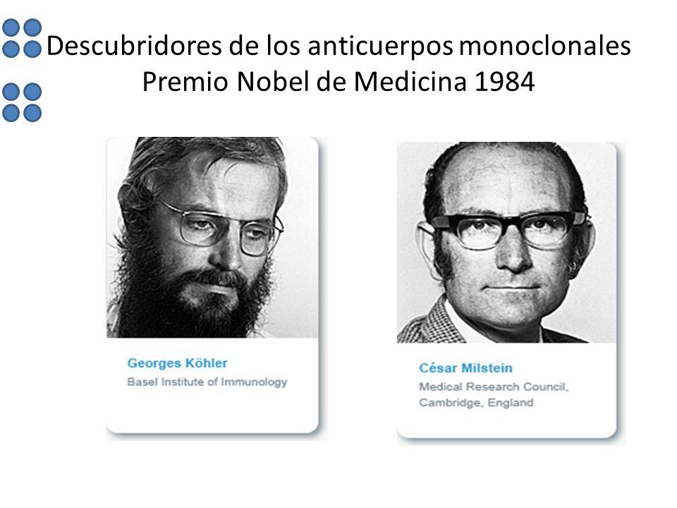 Descubridores de los anticuerpos monoclonales Premio Nobel de Medicina 1984