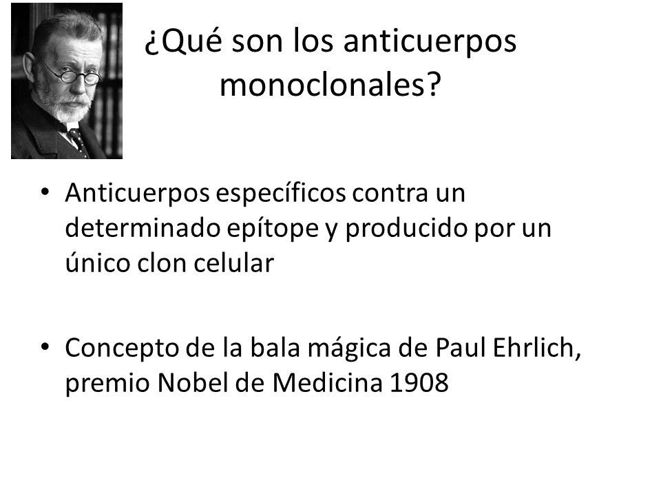 ¿Qué son los anticuerpos monoclonales