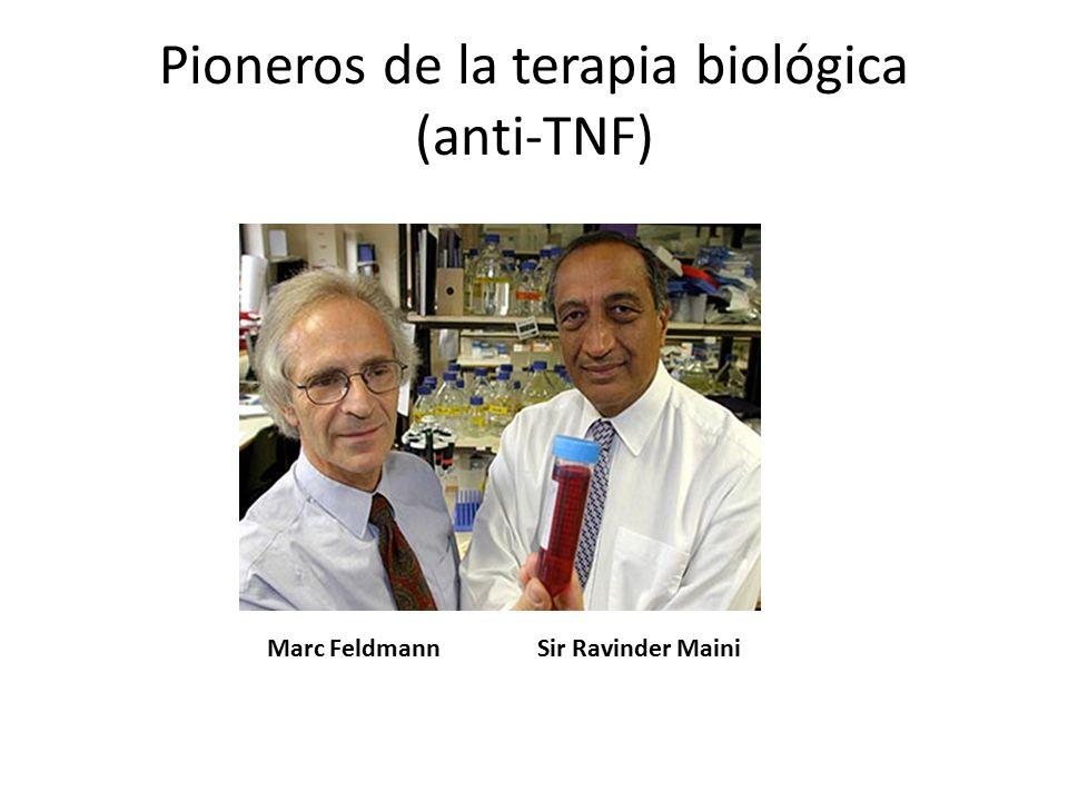 Pioneros de la terapia biológica (anti-TNF)