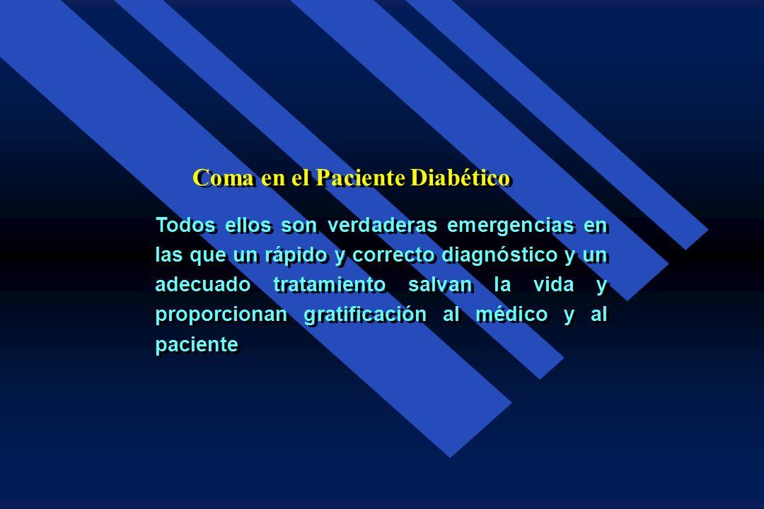 Coma en el Paciente Diabético