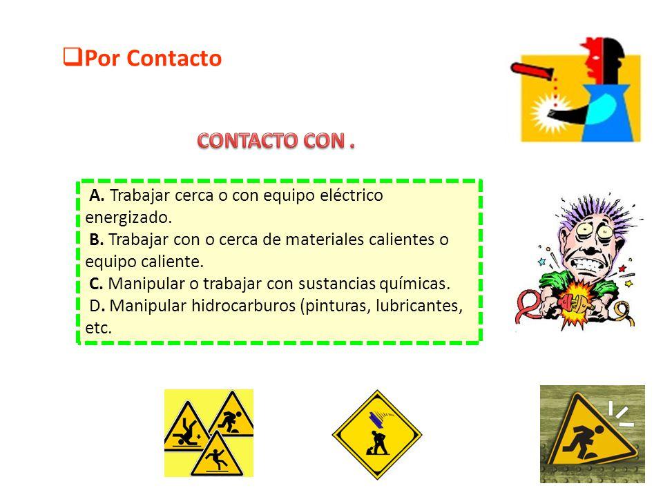 Por Contacto CONTACTO CON .