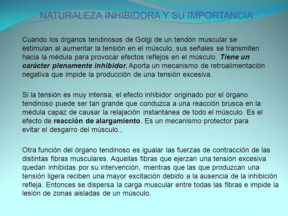NATURALEZA INHIBIDORA Y SU IMPORTANCIA