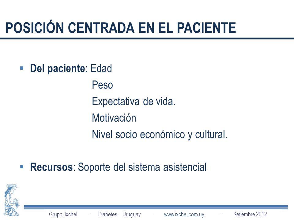 POSICIÓN CENTRADA EN EL PACIENTE