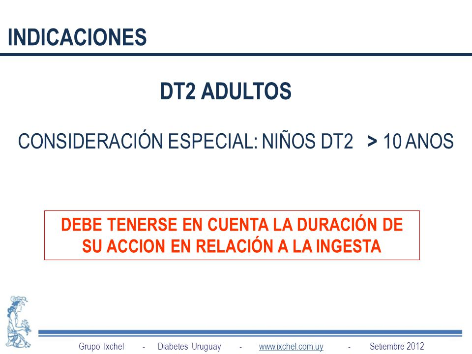 CONSIDERACIÓN ESPECIAL: NIÑOS DT2 > 10 ANOS