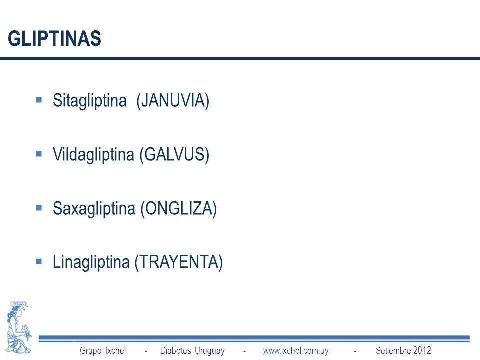 GLIPTINAS Sitagliptina (JANUVIA) Vildagliptina (GALVUS)