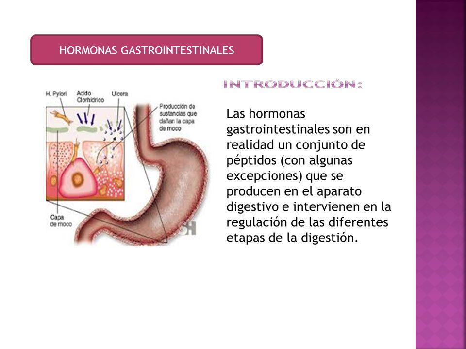 HORMONAS GASTROINTESTINALES