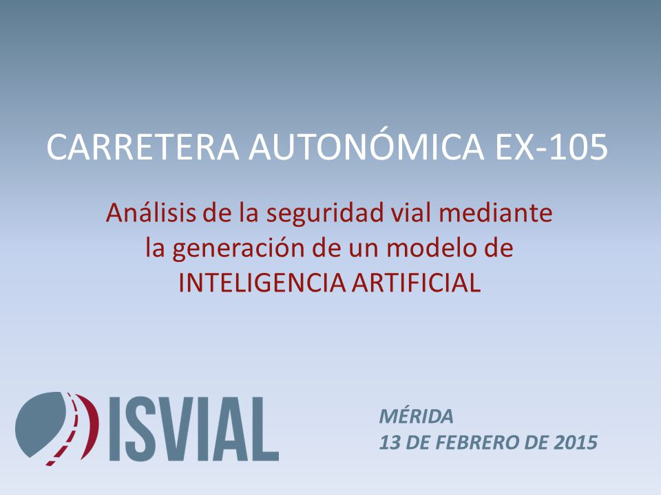 CARRETERA AUTONÓMICA EX-105