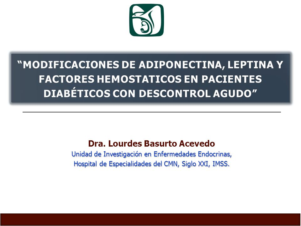 Dra. Lourdes Basurto Acevedo