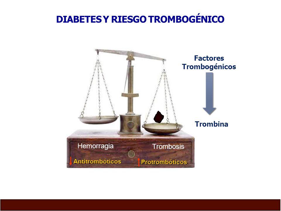 DIABETES Y RIESGO TROMBOGÉNICO