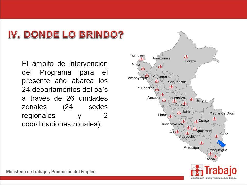 DONDE LO BRINDO