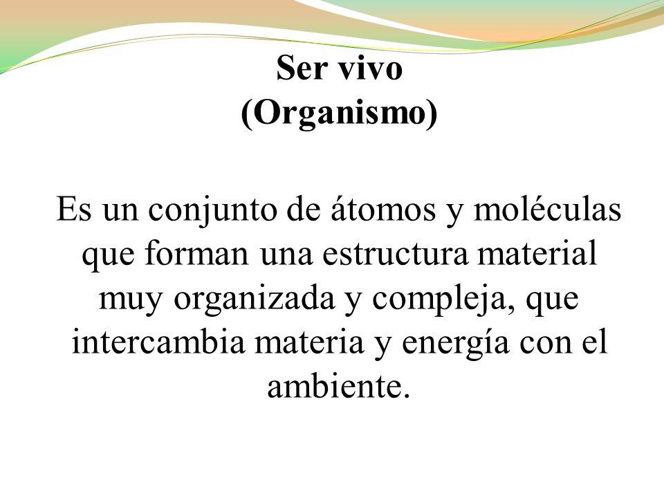 Ser vivo (Organismo)