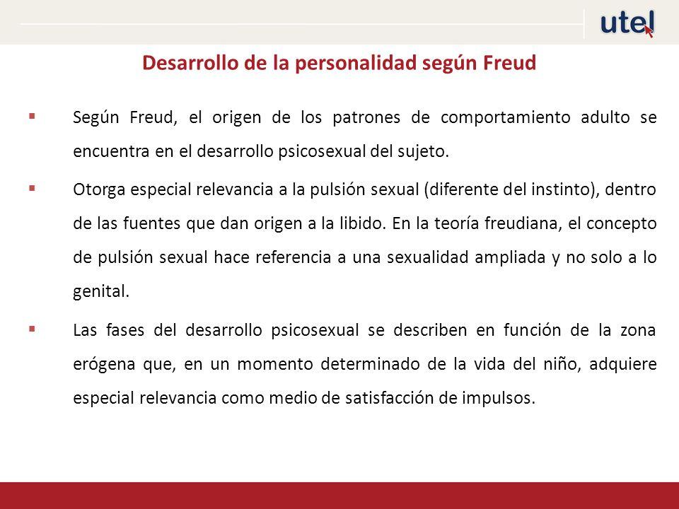 Desarrollo de la personalidad según Freud