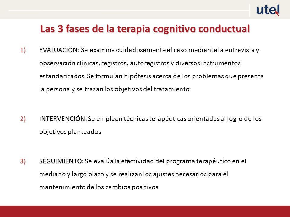 Las 3 fases de la terapia cognitivo conductual