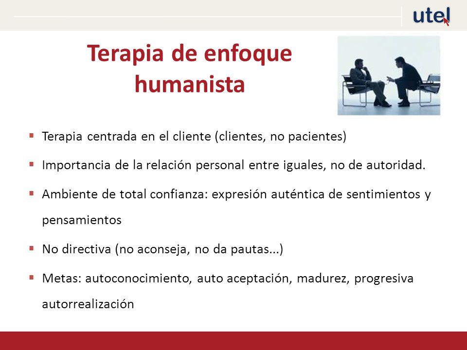 Terapia de enfoque humanista