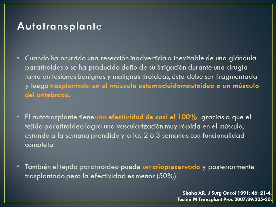 Autotransplante