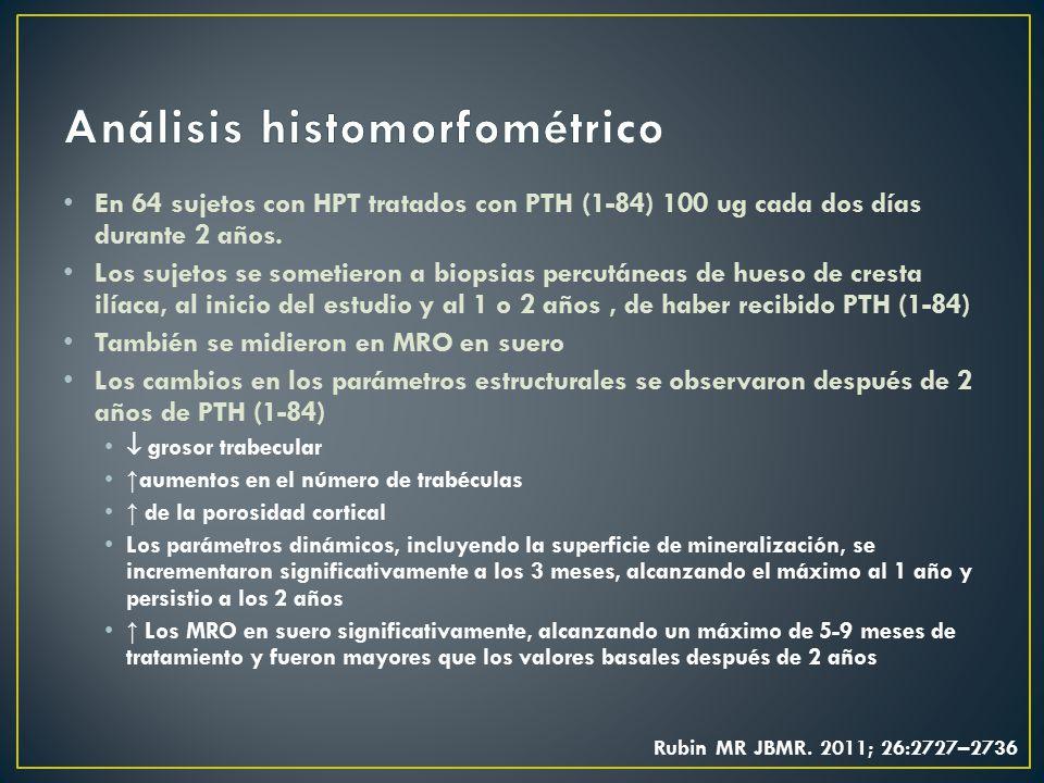 Análisis histomorfométrico