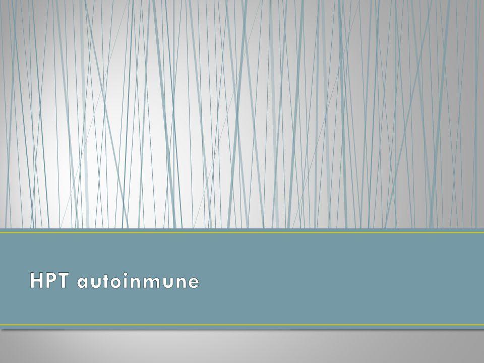 HPT autoinmune