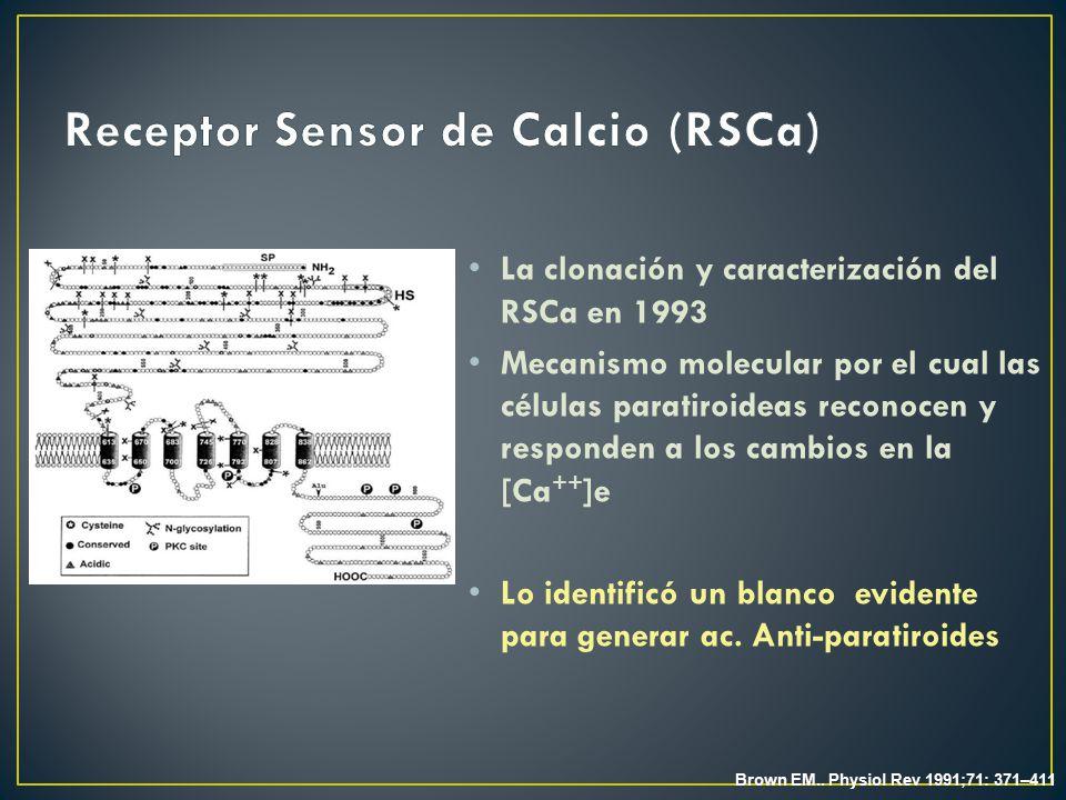 Receptor Sensor de Calcio (RSCa)