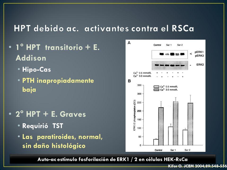 HPT debido ac. activantes contra el RSCa