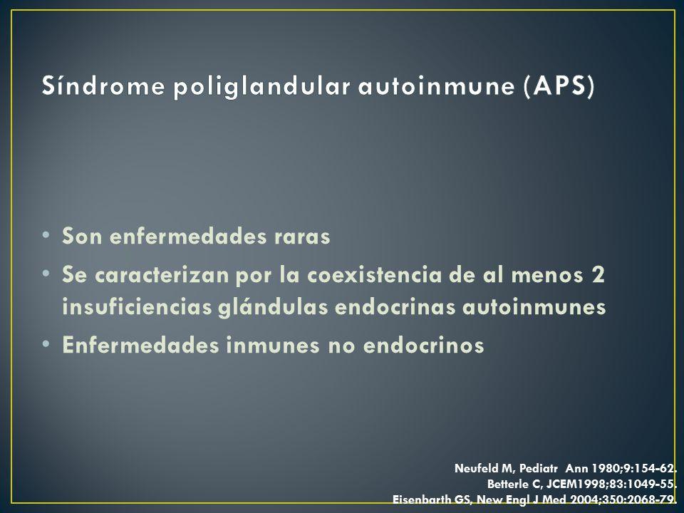 Síndrome poliglandular autoinmune (APS)