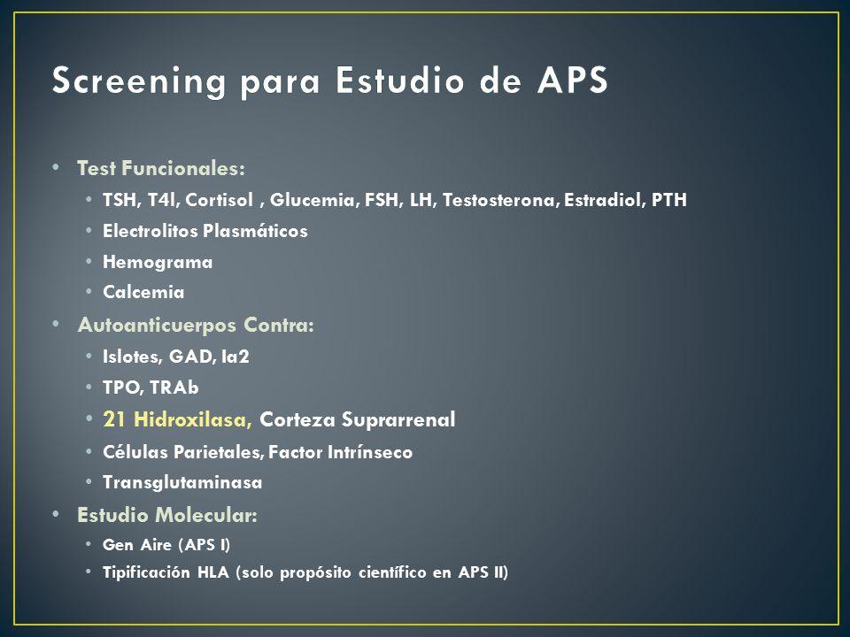 Screening para Estudio de APS