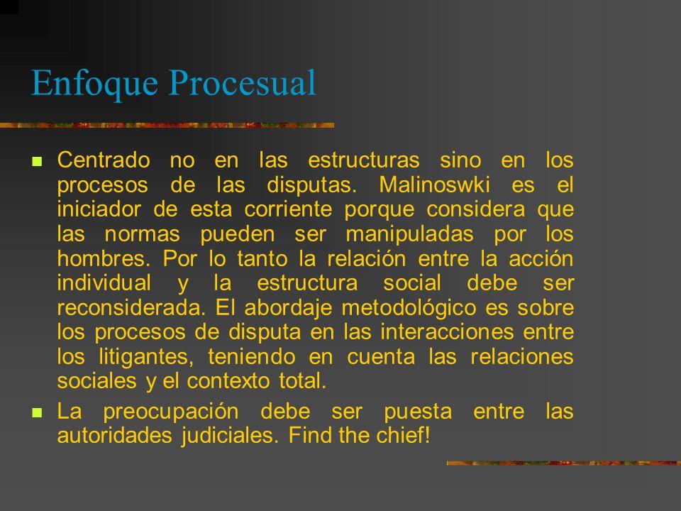 Enfoque Procesual