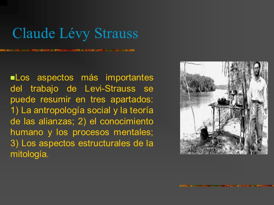 Claude Lévy Strauss