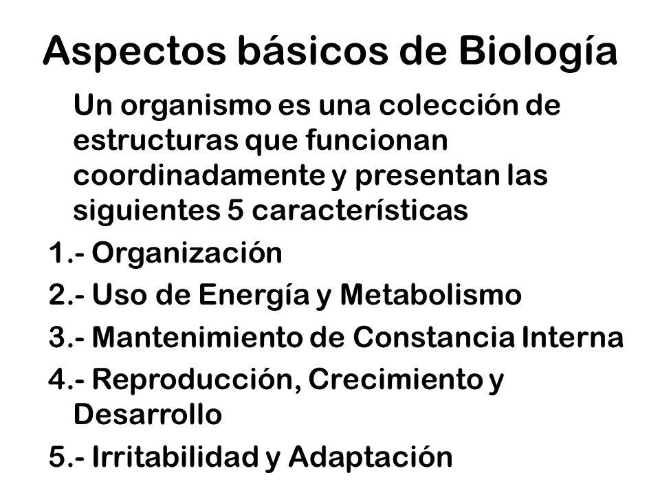 Aspectos básicos de Biología