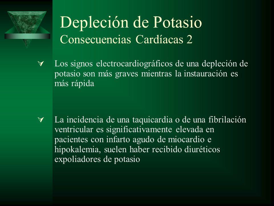 Depleción de Potasio Consecuencias Cardíacas 2