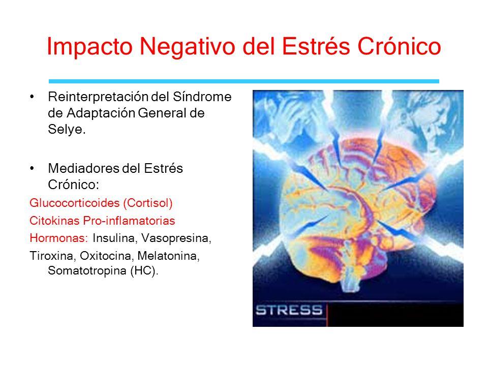 Impacto Negativo del Estrés Crónico