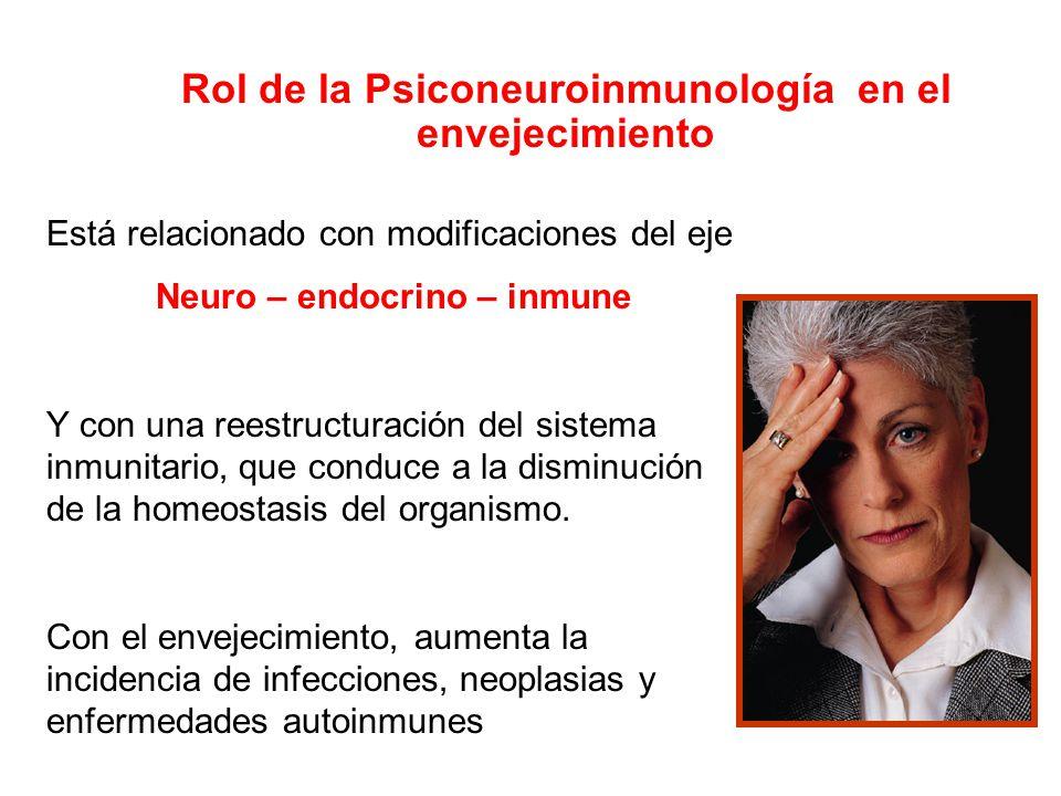 Rol de la Psiconeuroinmunología en el envejecimiento