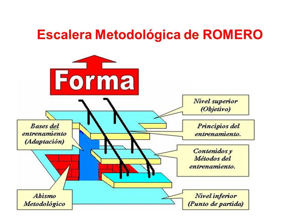 Escalera Metodológica de ROMERO