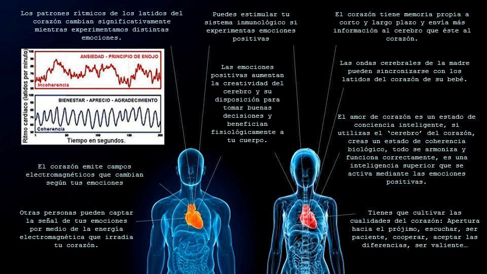 Los patrones rítmicos de los latidos del corazón cambian significativamente mientras experimentamos distintas emociones.