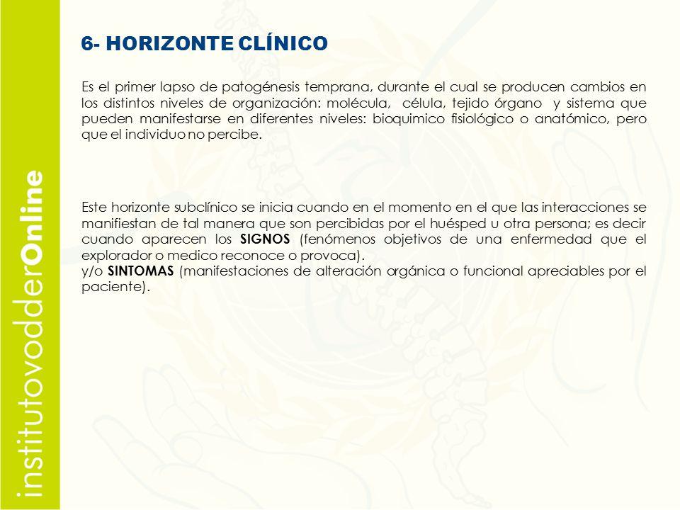 6- HORIZONTE CLÍNICO