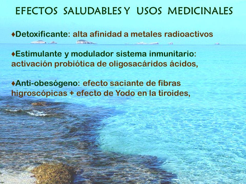 EFECTOS SALUDABLES Y USOS MEDICINALES