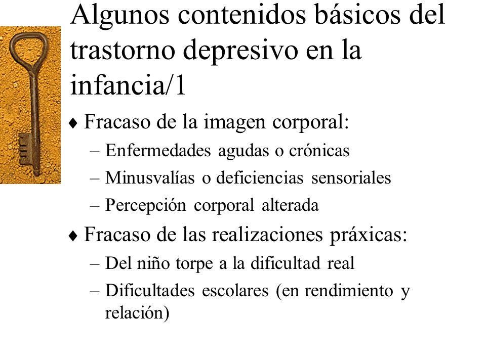 Algunos contenidos básicos del trastorno depresivo en la infancia/1