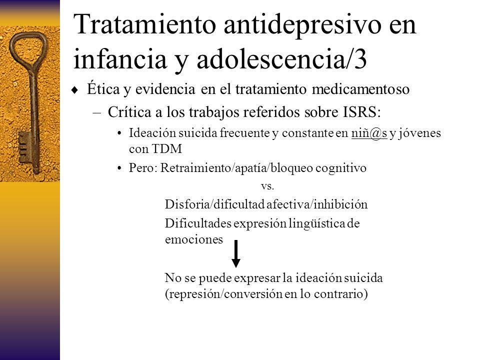 Tratamiento antidepresivo en infancia y adolescencia/3